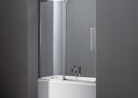 Шторка для ванной из закаленного стекла